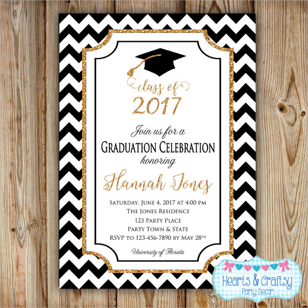 Printable Graduation Party Invitations 2017