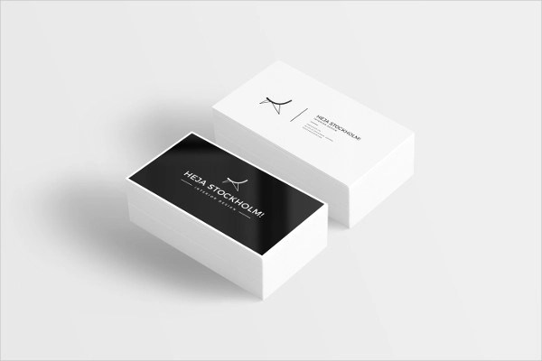 60  Examples of Business Card Design   PSD  AI  Vector EPS Free Printable Business Card