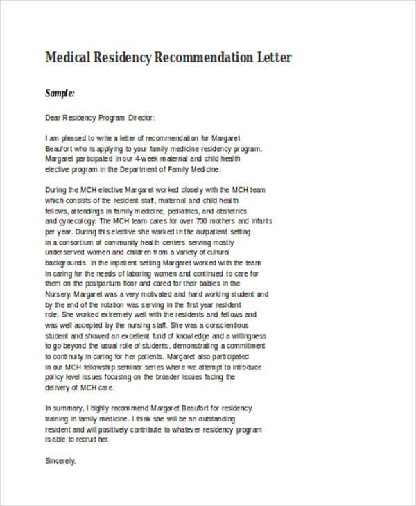 Hospital Doctors Community Letter