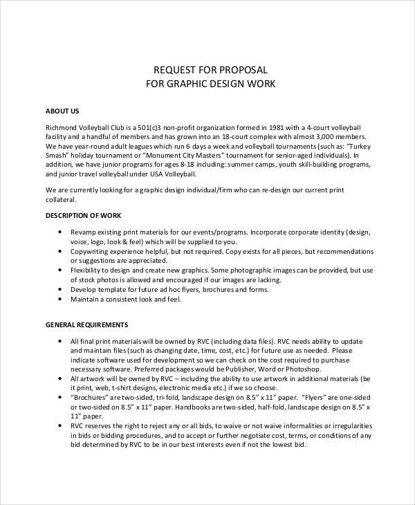 Free 6 Freelance Proposal Examples Samples In Pdf Word