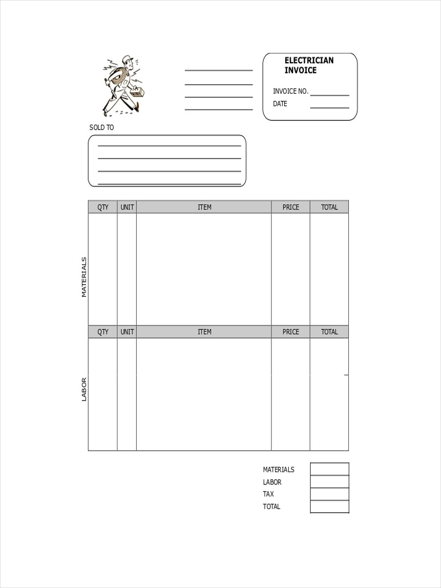 Free 11 Contractor Receipt Examples Amp Samples In Pdf