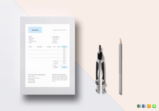 13  Contractor Invoice Examples   Samples General Invoice Template