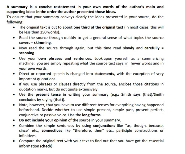 Free 10 Summary Writing Examples Amp Samples In