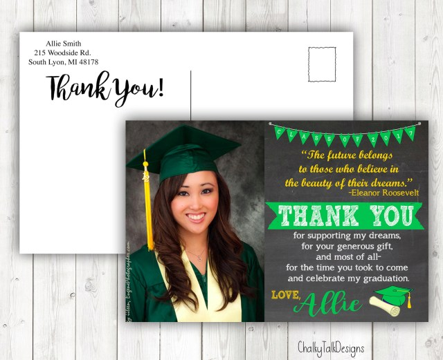 FREE 29+ Graduation Thank-You Cards in PSD  AI  EPS Vector