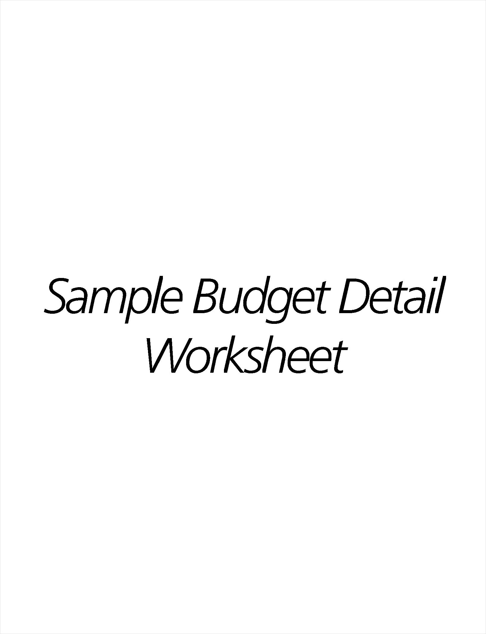 12 Human Resource Budget Examples Amp Samples