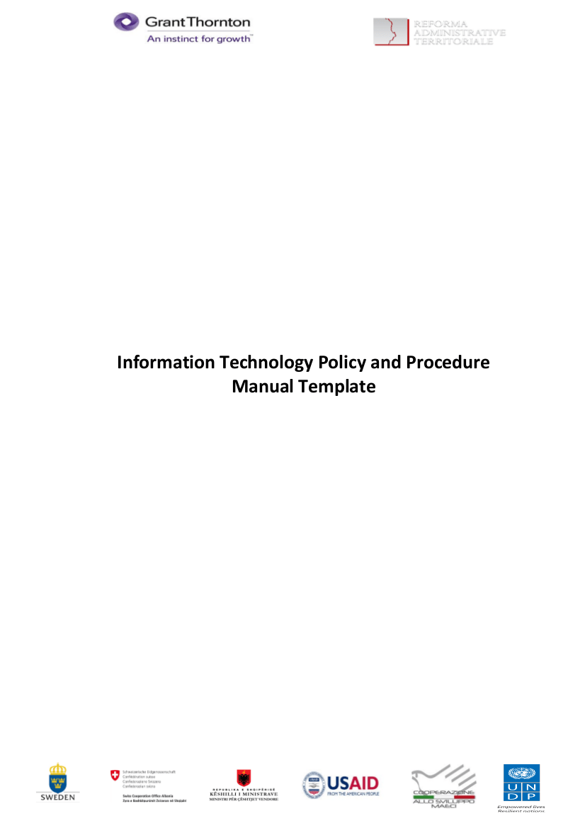 Security Policy Information Template
