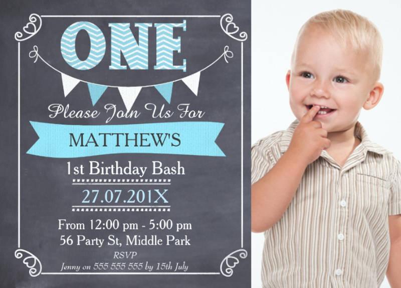 baby boy first birthday designs