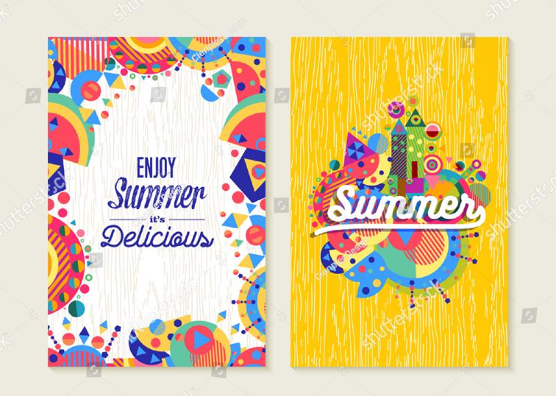 15 Vacation Greeting Card Examples PSD AI