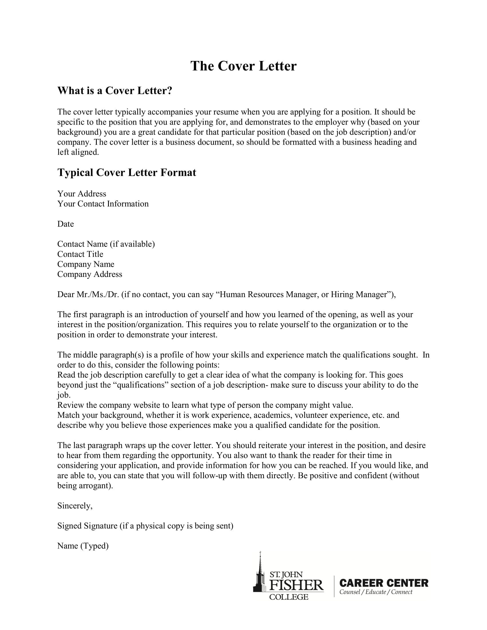 21 Cover Letter Examples Pdf Examples