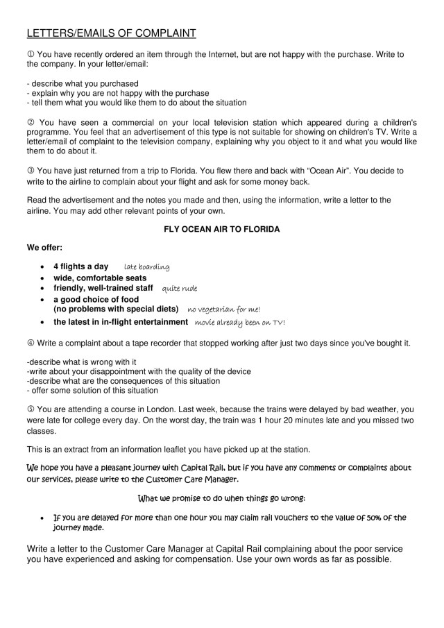 25+] Sample Complaint Letter To Airline For Delayed Flight