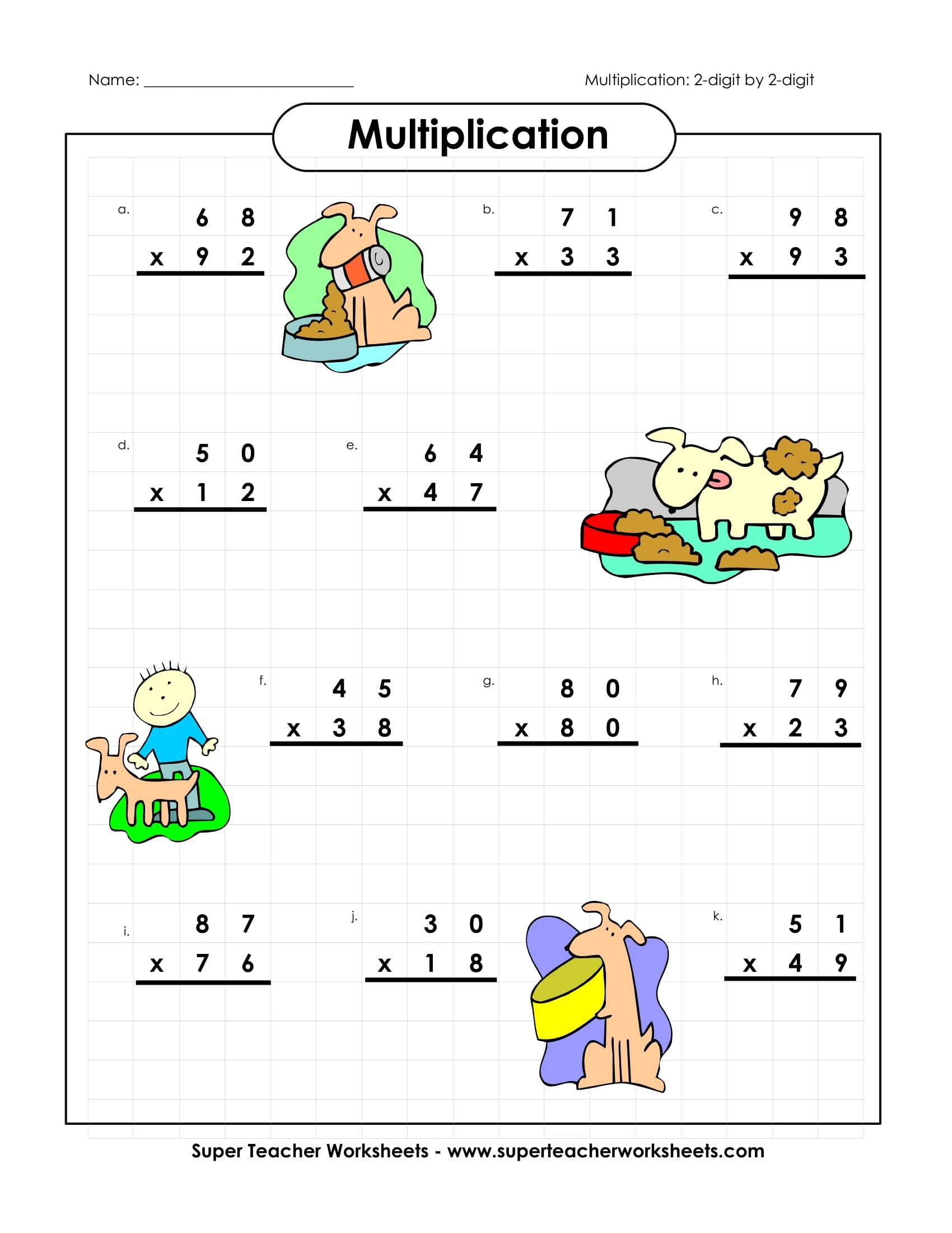 9 Math Worksheets For Students