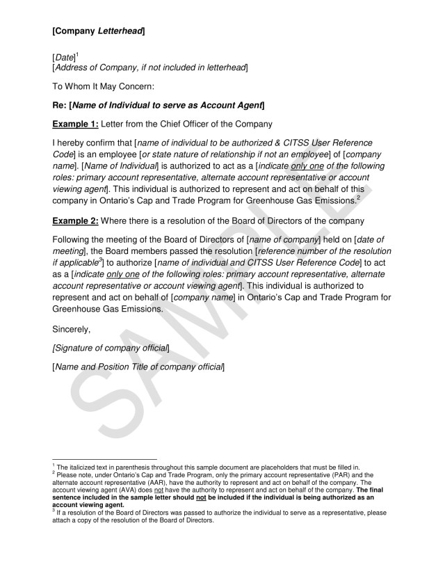22+ Authorization Letter to Act on Behalf Examples - PDF  Examples