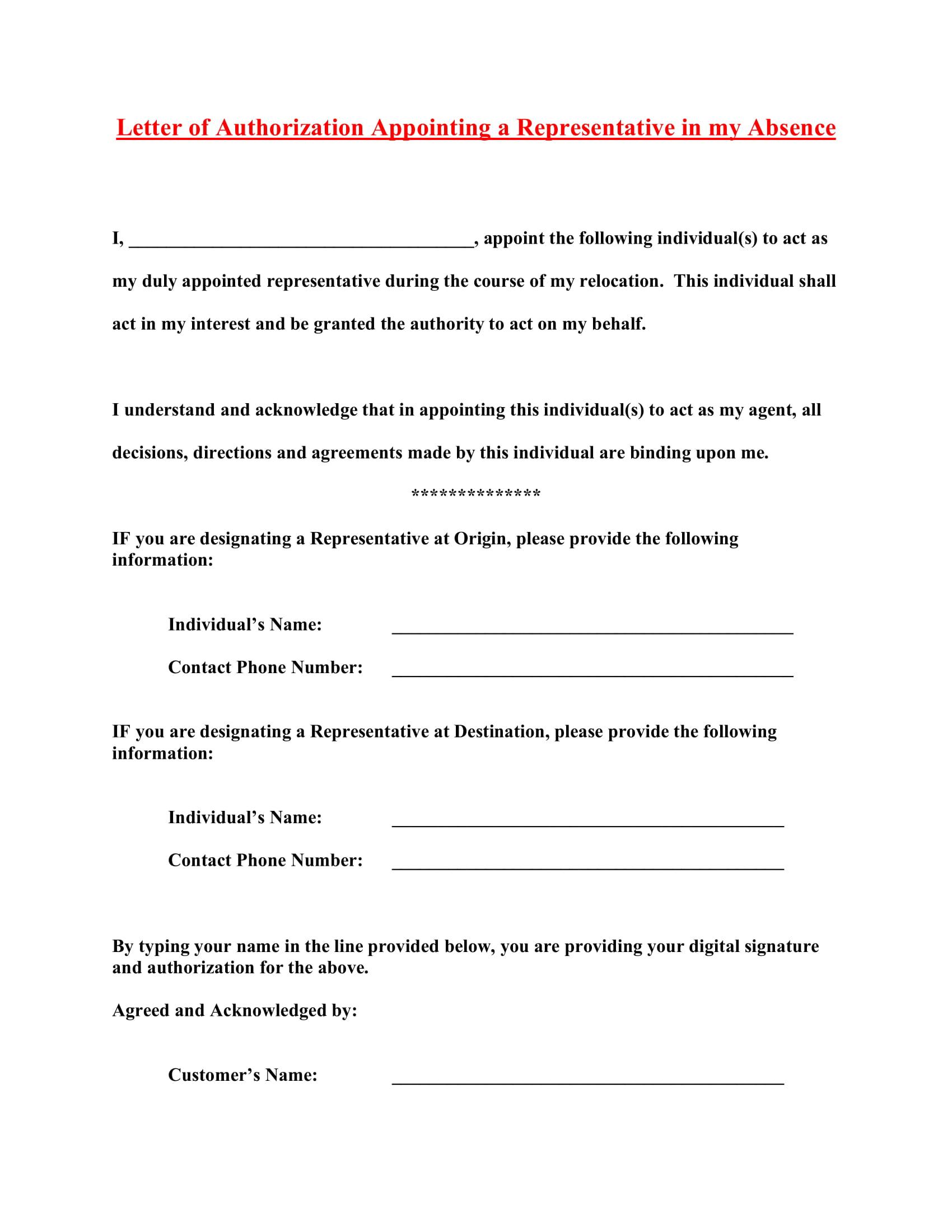 Behalf Form My Consent Authorization Speak