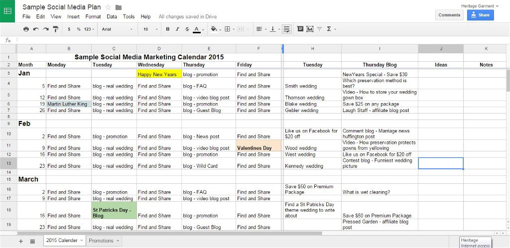 17 Social Media Marketing Plan Examples Pdf Word Docs