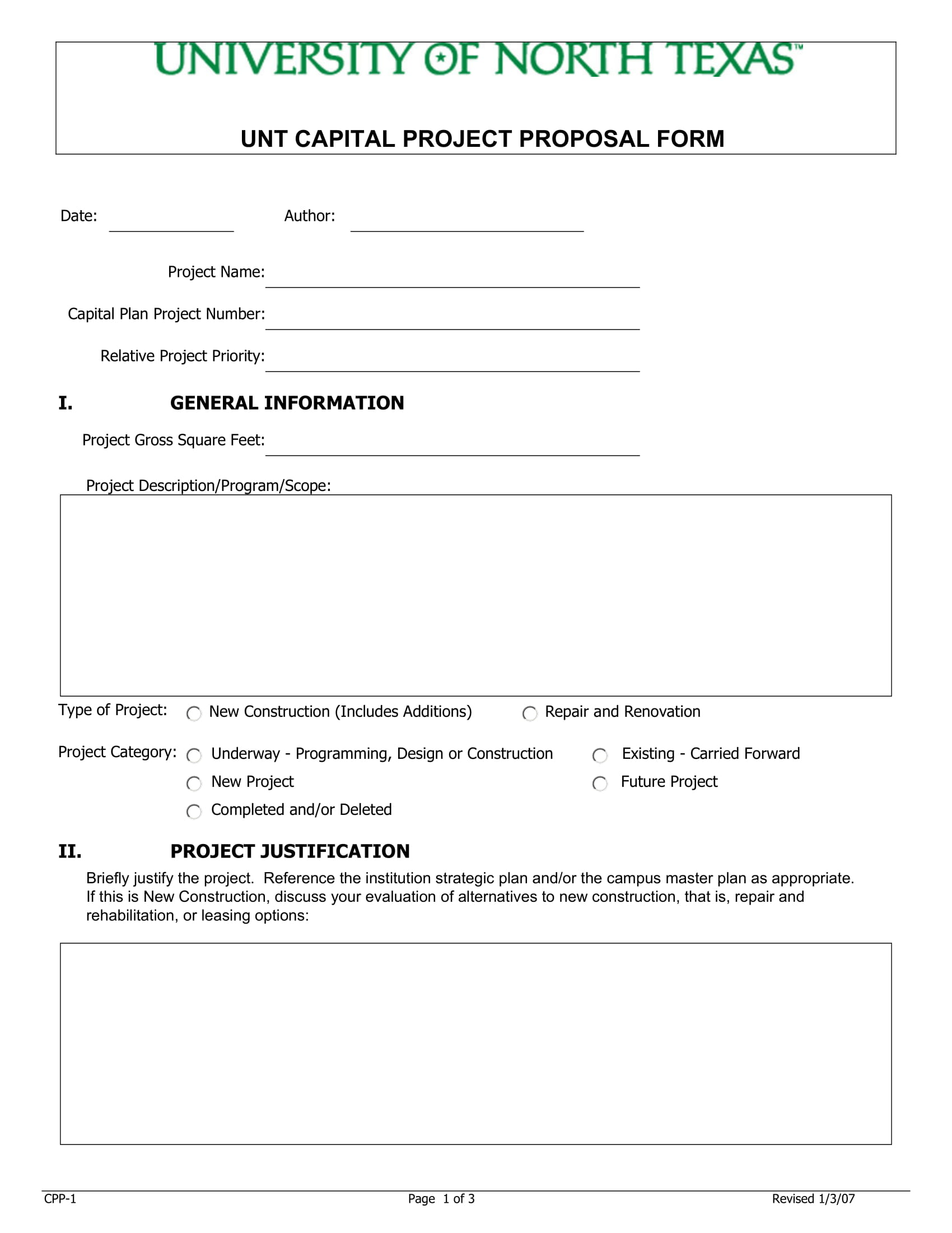9 Capital Project Proposal Examples Pdf Examples