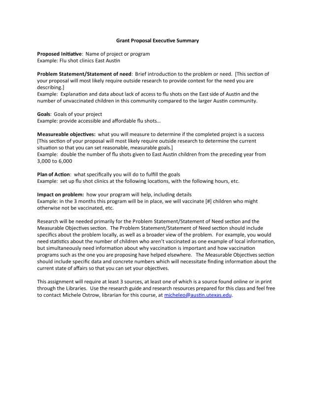 20+ Proposal Executive Summary Examples - PDF, Word  Examples