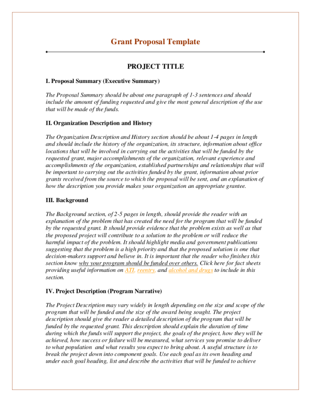 27+ Grant Proposal Writing Examples - PDF, Word  Examples