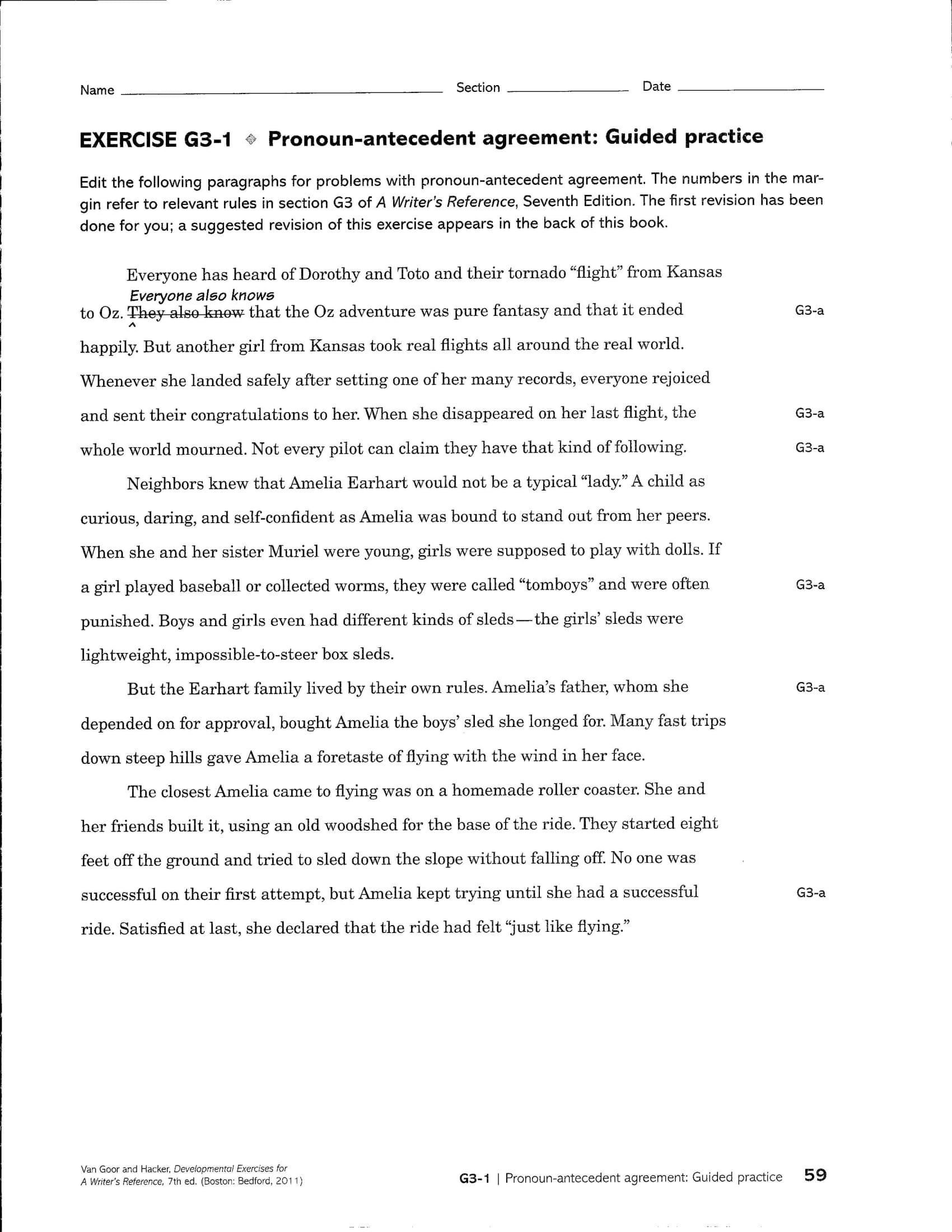 9 Pronoun Antecedent Examples