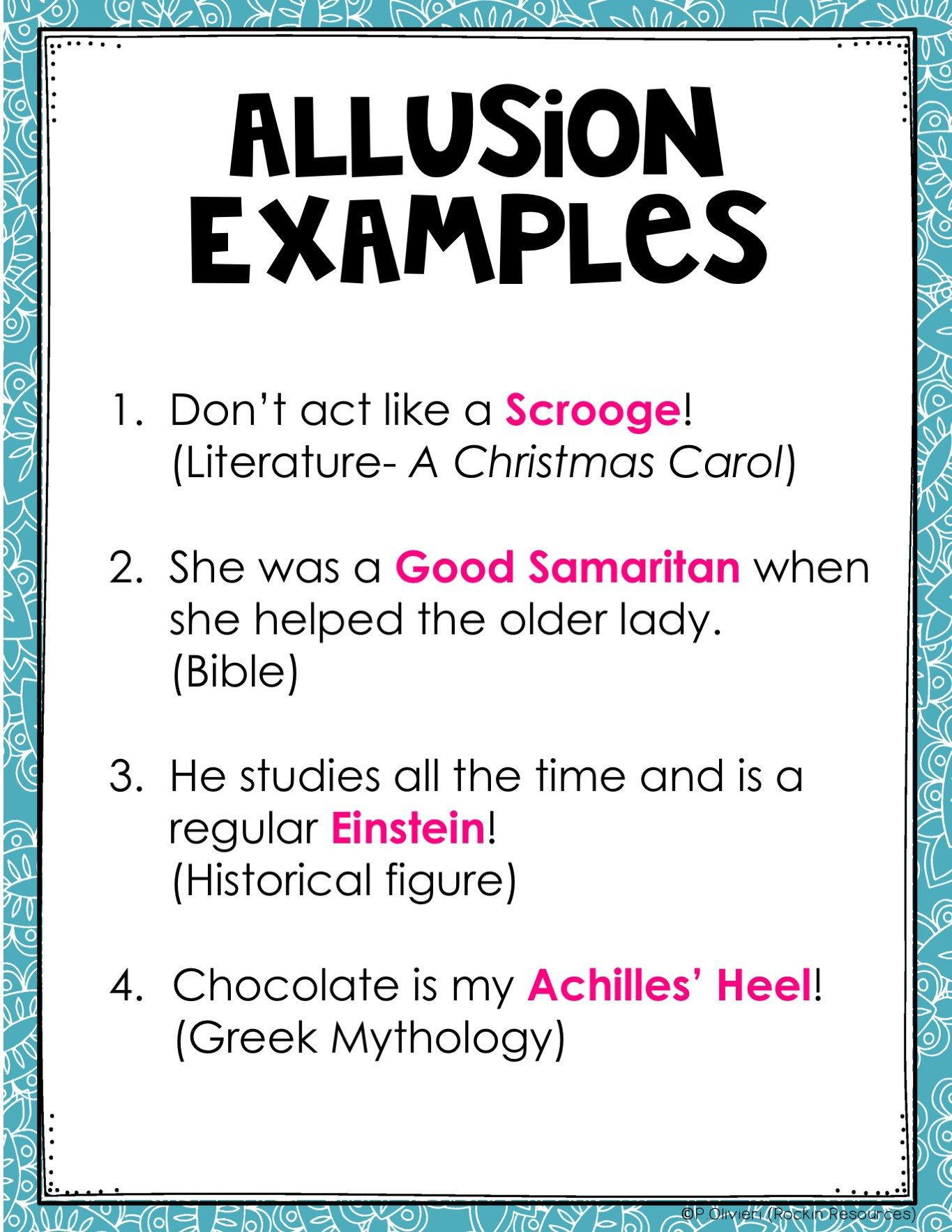 7 Allusion Examples For Kids