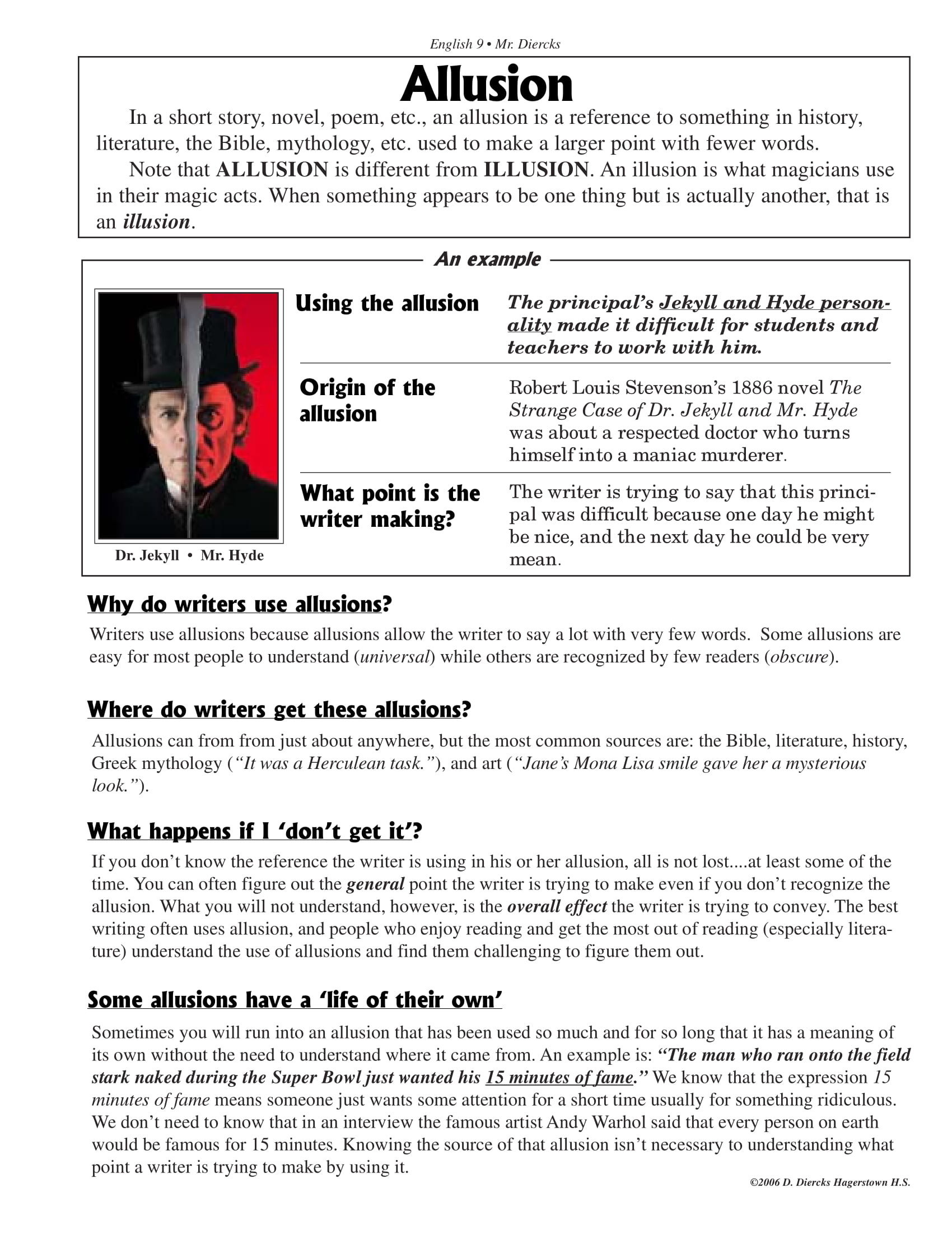 20 Allusion Examples
