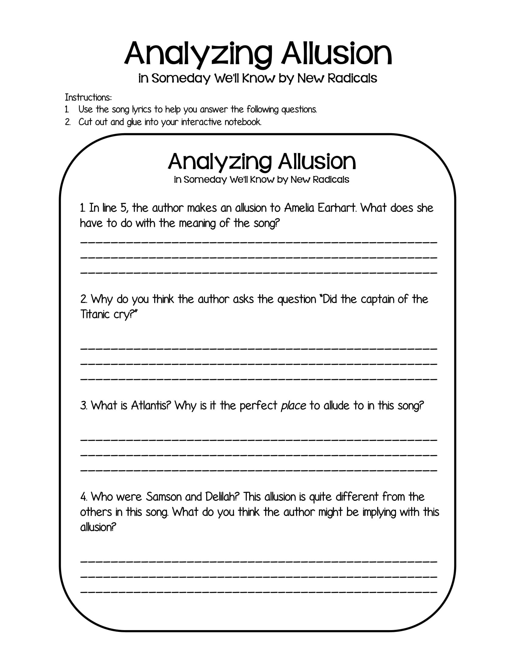 20 Allusion Examples