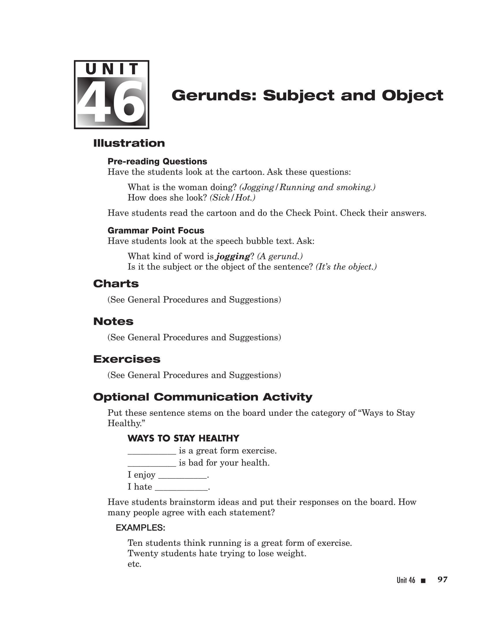 20 Gerund Examples