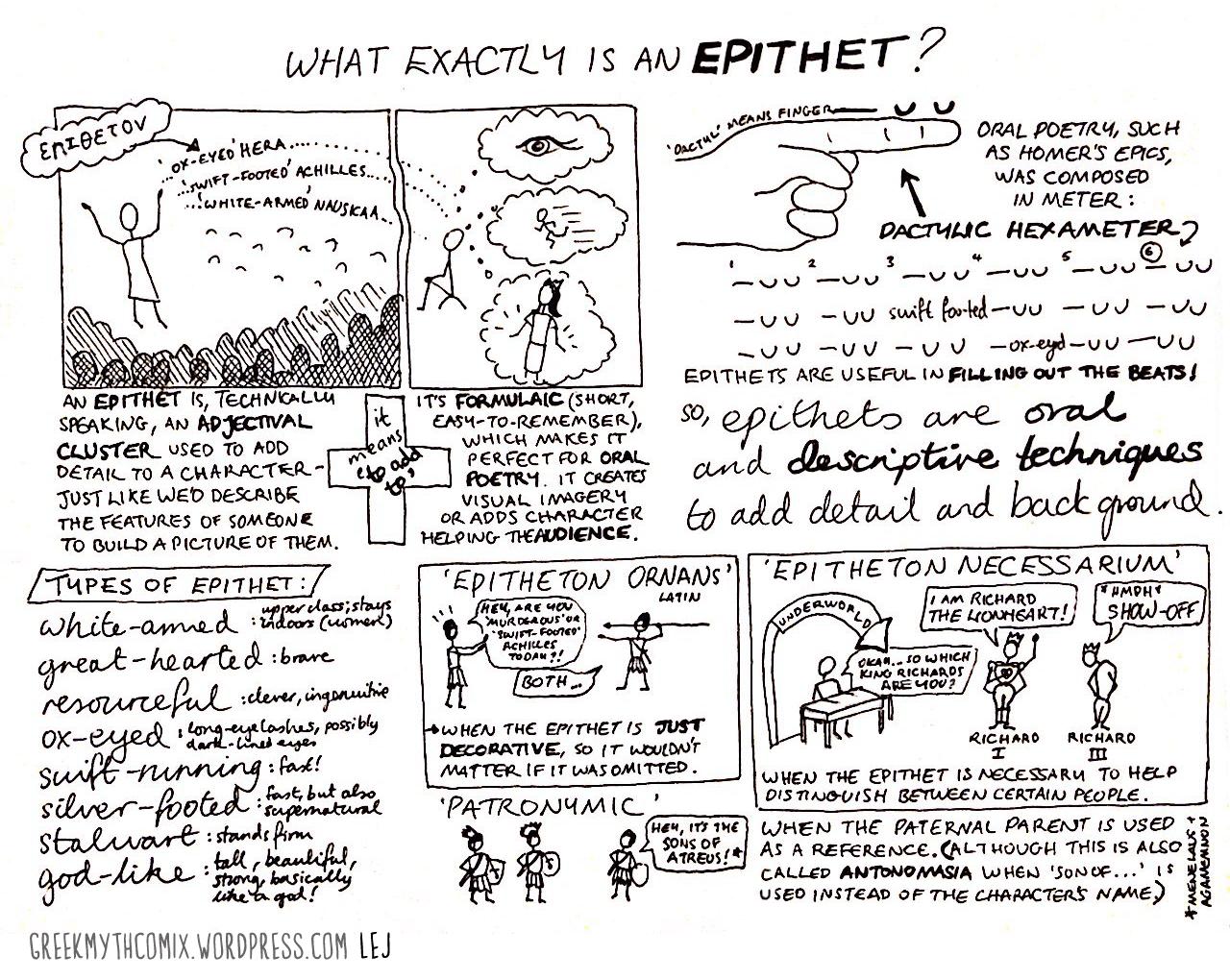 Epithet Greek Myth Comics