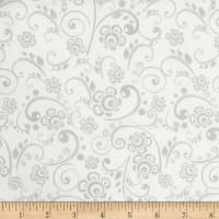 grey and white quilt fabric by the yard