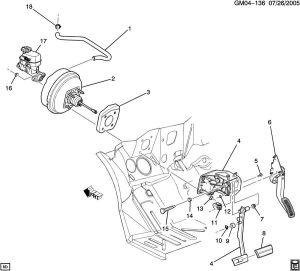 20092011 DTS Lucerne Power Brake Booster New OEM 20838827 1780823 25846373 | Factory OEM Parts