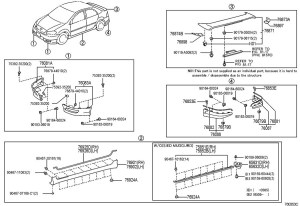 Toyota Corolla Body Parts Diagram – Periodic & Diagrams