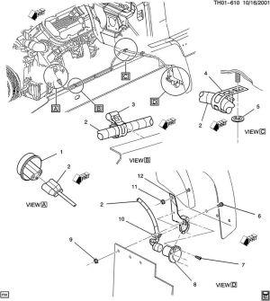 20032009 TopkickKodiak C6500C8500 Block Heater Cord New OEM 93802043 93801900 | Factory OEM Parts