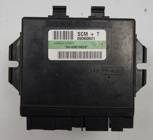 Proa Fuse Box Chevrolet Tracker Instrument Panel 2001 Diagram