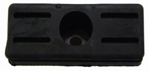 H2 HHR Rendezvous Endgate End Tail Gate Lock Rubber Wedge Stop New OEM 10422037