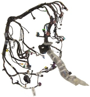 2008 Hummer H2 SUV SUT Dash Chassis Wiring Harness 25895646 25895634