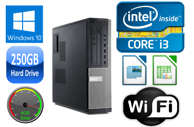 Dell OPTIPLEX 790 Desktop I3/i5 DUAL/QUAD CORE 4/8GB RAM