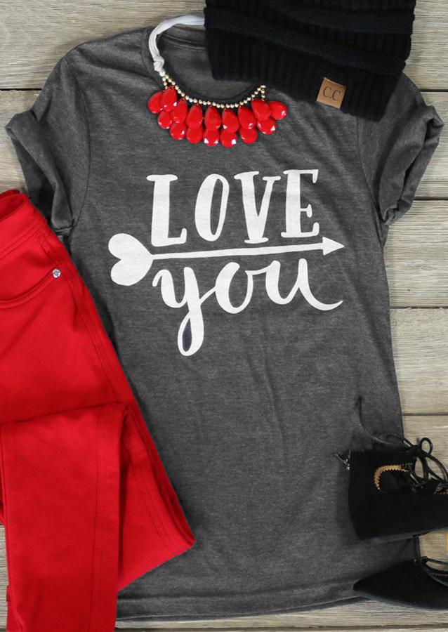 Love You Amp Valentines Day T Shirt Fairyseason