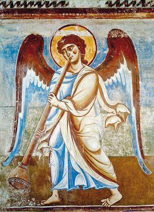 Risultati immagini per angelo del giudizio universale