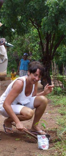Rita Fossacea, medico di ForLife Onlus in missione in Kenya.