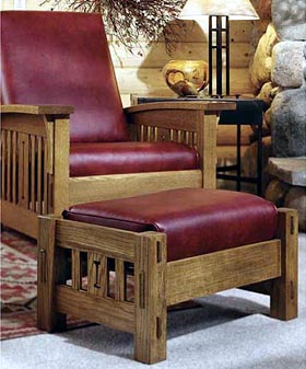 Product Code DP 00093 Arts And Crafts Morris Chair