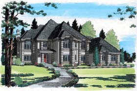 click to view this luxury home blueprint