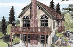 View this Vacation Style Home Plan