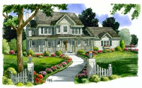 Click to view the details of this Country House Plan
