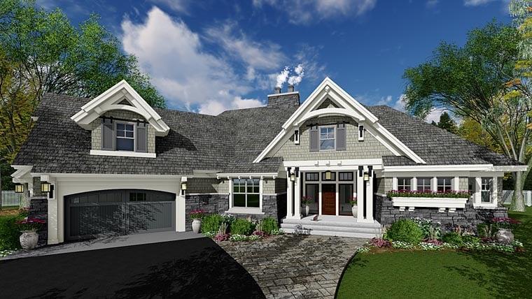 Tudor Style House Plan 42678 With 4 Bed, 3 Bath
