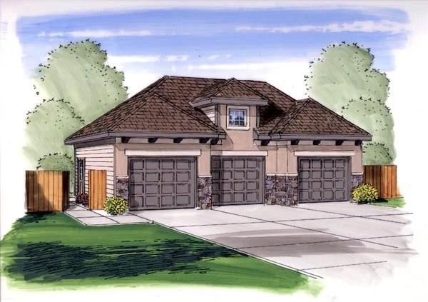 Garage Plan 44148 At
