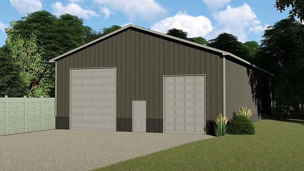Garage Plan 50625 At