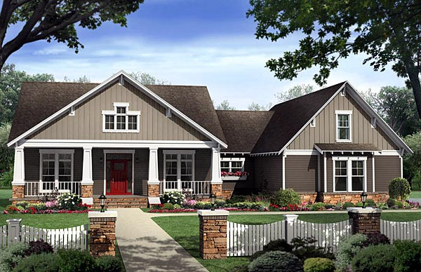 House Plan 59198 At FamilyHomePlans.com