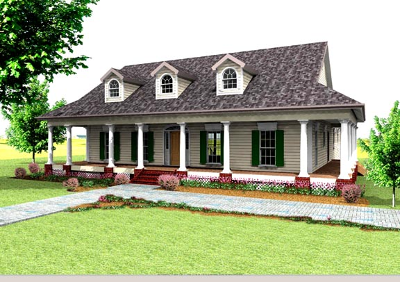 House Plan 64519 At FamilyHomePlans.com
