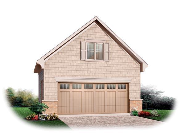 2 Car Garage Plan 64869 At FamilyHomePlans.com