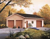 Three car garage plans