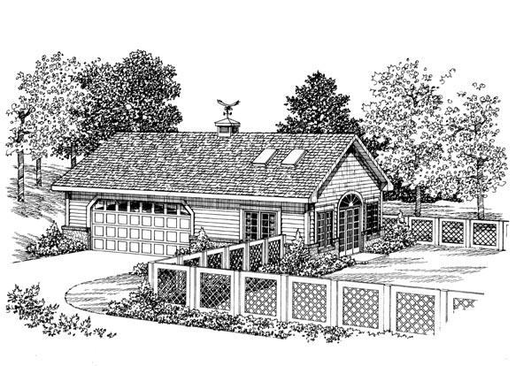 Garage Plan 91252 At FamilyHomePlans.com